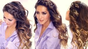 ☆ 3 Easy HEADBAND BRAID Hairstyles \u0026 HSI Curls | Short Medium ...
