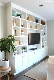 diy built in shelves around tv image result for grey custom built shelving diy built in