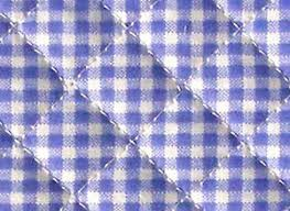 Pre Quilted Fabric – Home Image Ideas & blue gingham ready quilted fabric checked cotton pre-quilted Adamdwight.com