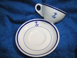 1950'S Dinnerware Patterns Magnificent US Navy Surplus China Dinnerware Militaria By Rank Insigina Perfect