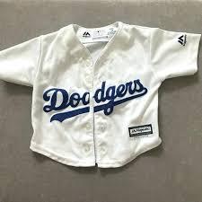 infant dodger jersey dodgers for baby blue