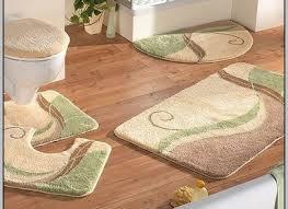 bathroom rug sets designer