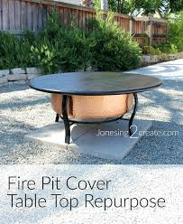 fire pit table cover fire pit cover table top fire pit table cover fire pit table