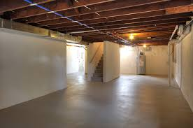 unfinished basement ideas. Cozy Laminate Wood Flooring With Ceiling Beams For Best Unfinished Basement  Ideas Unfinished Basement Ideas I