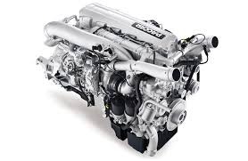 A Semi Truck Diesel Engine That Makes 500 Hp And 1 850 Lb Ft
