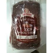 arnold whole grains 100 whole wheat bread nutrition grade a minus