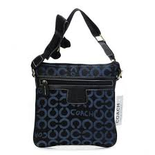 Coach Legacy Swingpack In Signature Medium Navy Crossbody Bags 21584