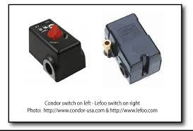 compressor pressure switch