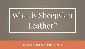 What Is <b>Sheepskin Leather</b>? - BestLeather.org