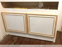 easy diy cabinet doors how to make cabinet doors with basic tools 20