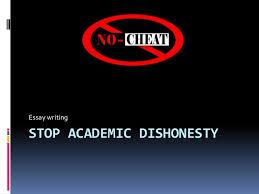 stop academic dishonesty