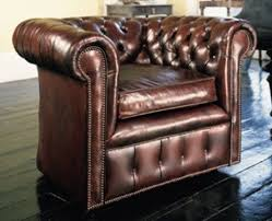 leather chesterfield chair. Leather Chesterfield Club Chair