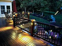 outdoor deck lighting ideas. Solar Deck Lighting Ideas Outdoor Services F