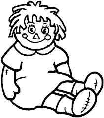 Small Picture Doll Coloring Page Coloring Home Coloring Coloring Pages