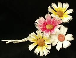 Flower Paper Mache Papier Mache Tutorials Daisy Flower