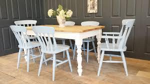 shabby chic dining tables handmade farmhouse dining table drop leaf farmhouse table