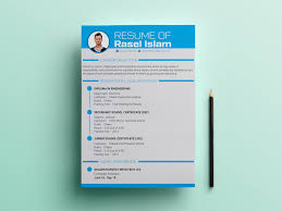 Free Engineering Cvresume Template By James Han On Dribbble