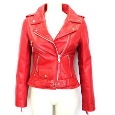 biker jackets brando red biker rock gothic leather jackets gothic jackets for women