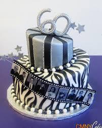 Movie Reel 60th Birthday Cake Cmny Cakes