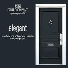 black entry door modern masters non fade front door paint in the color elegant black black