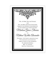 Wedding Invitations Templates Printable For All Budgets Wedding