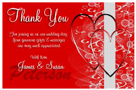Photo Thank You Cards For Weddings