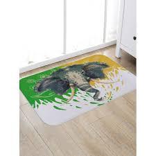 ethnic elephant print indoor outdoor area rug 5 34 free gearbest com