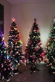 Buy 3u002639 PreLit Jet Black Fiber Optic Artificial Christmas Tree Black Fiber Optic Christmas Tree