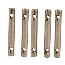 uxcell 5pcs M8x90mm Dual Hole Zinc Plated Iron ... - Amazon.com