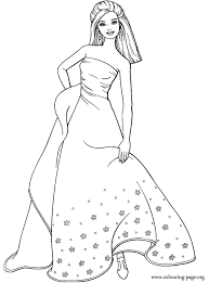 Small Picture a Dog in a Dress Coloring Page Animal pages of KidsColoringPage