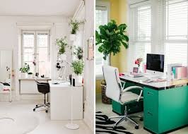 dream home office. Creative Desk Space Home Office Modern White Gold Blogger Dream U