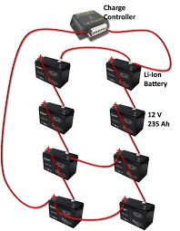 48 volt battery bank wiring diagram 48 image 12 volt battery inverter circuit diagram wirdig on 48 volt battery bank wiring diagram