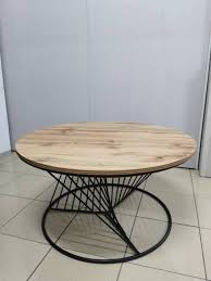 special design round coffee table