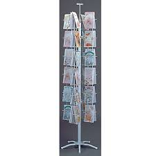 Greetings Card Display Stands Gorgeous Greeting Card Display Wire Revolving Literature Display With 32