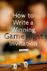 Game Night Invitation Template Game Night Invitation Wording Allwording Com