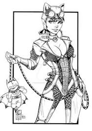 catwoman cheetah coloring page 81 best steunk coloring pages images on coloring ideas