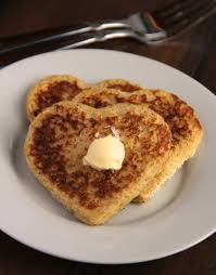 Image result for image of heart shape toast