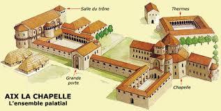 """Résultat de recherche d'images pour """"monastere carolingien"""""""