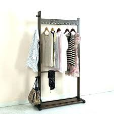 free standing clothes rack standing clothes rack wooden clothes rack wooden standing coat rack wardrobe racks