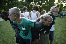 Team work games for teens