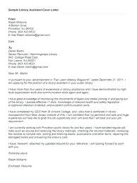 Cover Letter For Library Library Page Cover Letter Resume Library ...