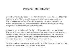 Personal Description Personal Interest Description Authorstream