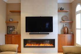 how to convert a fireplace to electric
