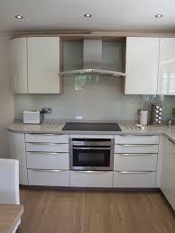 inspiring grey kitchen walls. Light Grey Kitchen Walls Fresh Glass Splashback With High Gloss White Cabinetry And Of Inspiring