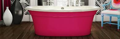 Beautiful Bring Color And Style To Your Bathroom With An Ella Freestanding Bathtub