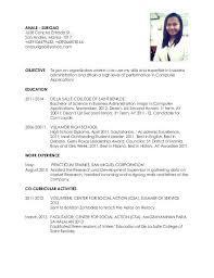 Examples Of Resume For High School Students Examples Resume For High