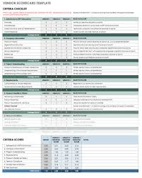 Supplier Evaluation Template 24 Free Vendor Templates Smartsheet 1