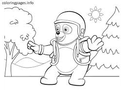 Small Picture 7 best Agent oso coloring pages images on Pinterest Free