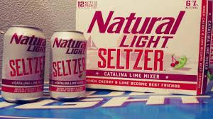 Catalina Lime Mixer Natural Light New Natural Light Seltzer Cherry And Catalina Lime Mixer