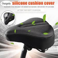 orangesky gel bike seat cover exercise